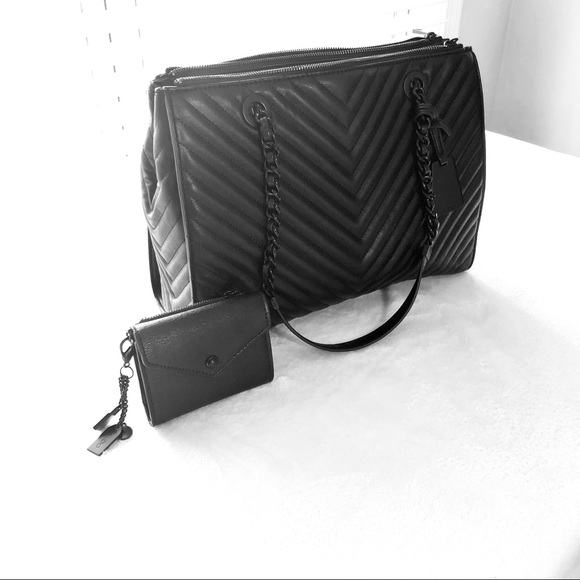 876d29a0856 Aldo Handbags - Aldo Oxdrift Chevron VG Leather Purse and Wallet